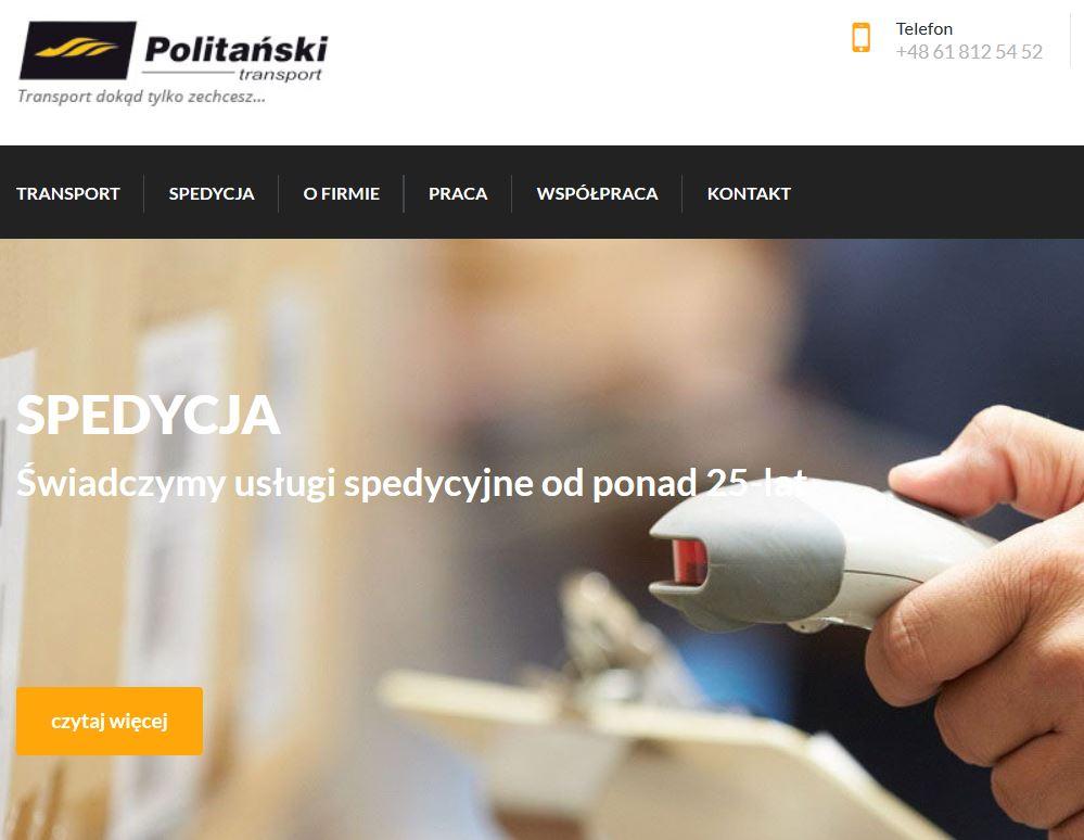 POLITANSKI - SPEDYCJA MIEDZYNRODOWA
